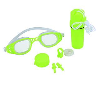 Набор 3 в 1 для плавания Bestway 26002 (очки: размер M, (8+), обхват головы ≈ 52 см, беруши, клипса для носа,