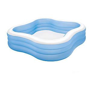 Детский надувной бассейн Intex 57495 «Семейный», синий, 229 х 229 х 56 см