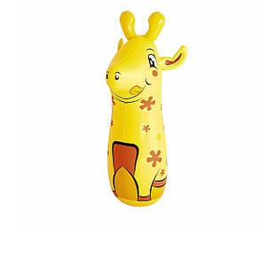 Надувная игрушка - неваляшка Bestway 52152 «Жираф», 91 см