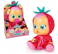 Кукла интерактивный пупс плакса тутти фрутти Cry Babies Tutti Frutti Ella Strawberry Элла клубничка