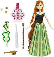 Игровой набор принцесса Анна с аксессуарами для волос Disney Anna Hair Play Doll