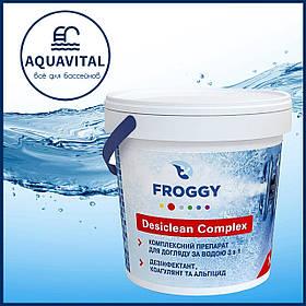 Froggy «Desiclean Complex» | Мульти-таблетки 3в1 по 200 гр (банка 1 кг)