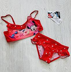 Купальник для девочек, Disney, арт. 92090, рр 98-128 см