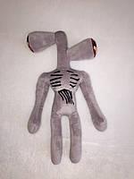 Мягкая игрушка Karinka Siren Head Сиреноголовый монстр 40 см Серый