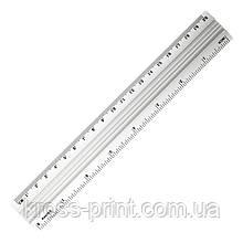 Линейка алюминиевая Axent 7420-A, 20 см