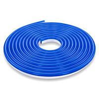 Світлодіодна стрічка NEON 220В JL 2835-120 B IP65 синій, герметична, 1м