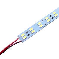 Світлодіодна лінійка BRT 5730-144 led W 2-pin 6500K, 12В, IP20 білий зі скотчем