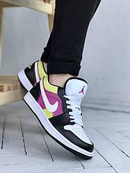 Кроссовки Jordan Retro 1 Low, обувь, взуття, sneakers, шузы, 0605