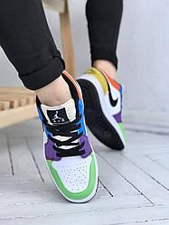 Кроссовки Jordan Retro 1 Low, обувь, взуття, sneakers, шузы, 0606