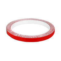 Скотч AT-2s-200-78-10-RED (7,8 мм х 10м) тканинна основа, червоний