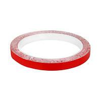Скотч AT-2s-200-95-10-RED (9,5 мм х 10м) тканинна основа, червоний