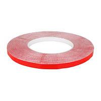Скотч AT-2s-200-78-50-RED (7,8 мм х 50м) тканинна основа, червоний