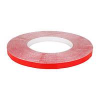 Скотч AT-2s-200-95-50-RED (9,5 мм х 50м) тканинна основа, червоний