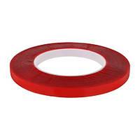 Скотч AT-2s-080-95-10-ACR (9,5 мм х 10м) акрилова основа, червоний