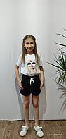 Детские трикотажные шорты для девочки