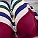Бюстгальтер на тонком поролоне D цвет  (Черный, бордовй.пудровый), фото 3
