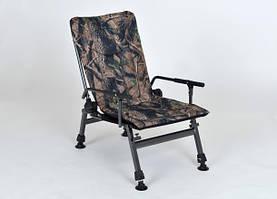 Крісло коропове Elektrostatyk F5R з підлокітниками і регульованою спинкою (до 110 кг) ЛІС