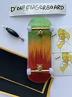 Профессиональный деревянный фингерборд D'oh! Fingerboard с подшипниками