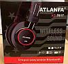 Беспроводные наушники ATLANFA AT-7617 - Bluetooth стерео наушники с микрофоном складные с плеером и FM радио, фото 4