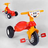 Детский Детский велосипед Pilsan My Pet 07-132 КРАСНО-ЖЁЛТЫЙ, с клаксоном