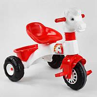 Детский велосипед трехколесный 07-146 Pilsan корзинка