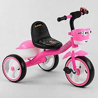 """Детский велосипед 3-х колёсный 94881 """"Best Trike"""" пено колесо EVA со светом и звуком, звоночек, 2 корзины,"""