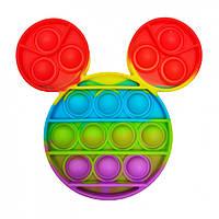"""Игрушка-антистресс """"POP-IT"""" PPT-M(Multicolor) Микки Маус Разноцветный"""