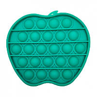 """Игрушка-антистресс """"POP-IT"""" PPT-A(Green) Яблоко Зелёный"""