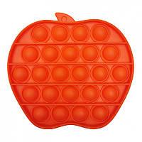 """Игрушка-антистресс """"POP-IT"""" PPT-A(Orange) Яблоко Оранжевый"""