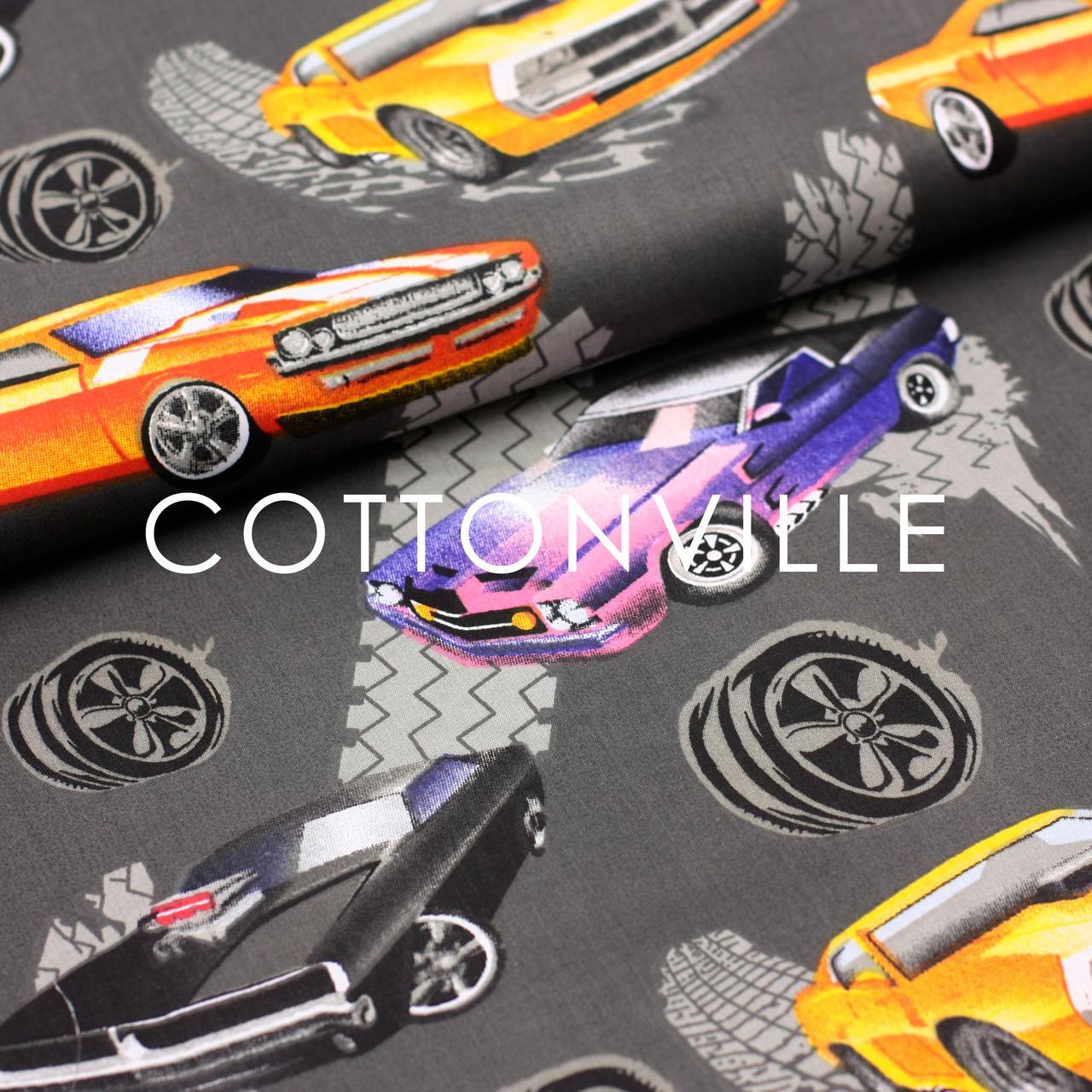 Хлопковая ткань Машины