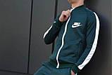 Костюм Nike зелений з білими вставками, фото 2