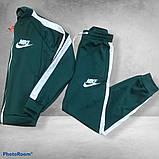 Костюм Nike зелений з білими вставками, фото 3