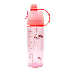Спортивна пляшка для води з розпилювачем New. B 600 ml Червона (7182toi4501)