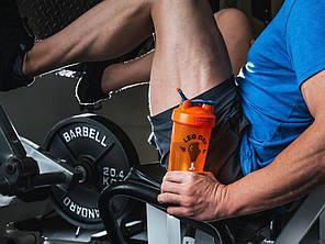Спортивный шейкер BlenderBottle Classic Loop 820 ml Special Edition Leg Day Orange, фото 2