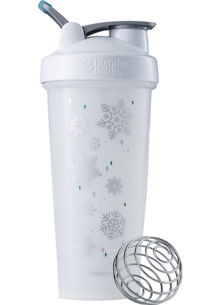 Спортивний шейкер BlenderBottle Classic Loop 820 ml Special Edition White Frost, фото 2
