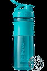Спортивна пляшка-шейкер BlenderBottle SportMixer 820 ml Teal