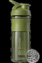 Спортивна пляшка-шейкер BlenderBottle SportMixer 820 ml Moss Green