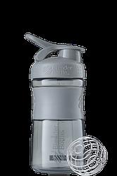 Спортивна пляшка-шейкер BlenderBottle SportMixer 590 ml Grey