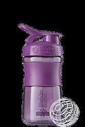 Спортивна пляшка-шейкер BlenderBottle SportMixer 590 ml Plum