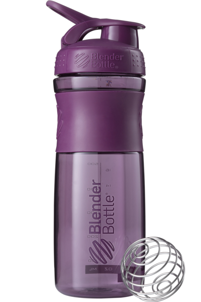 Спортивна пляшка-шейкер BlenderBottle SportMixer 820 ml Plum