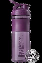 Спортивная бутылка-шейкер BlenderBottle SportMixer 820 ml Plum