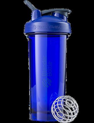 Спортивная бутылка-шейкер BlenderBottle Pro28 Tritan 820 ml Ultramarine, фото 2