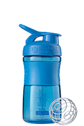 Спортивна пляшка-шейкер BlenderBottle SportMixer 590 ml Cyan
