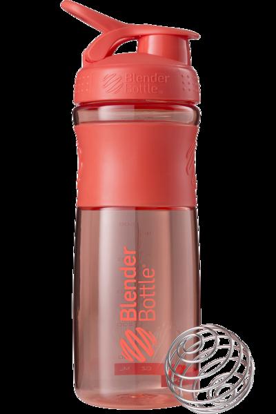 Спортивна пляшка-шейкер BlenderBottle SportMixer 820 ml Coral
