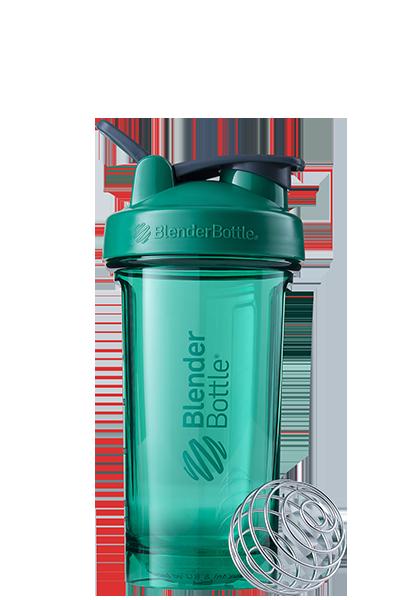 Спортивная бутылка-шейкер BlenderBottle Pro24 Tritan 710 ml Green