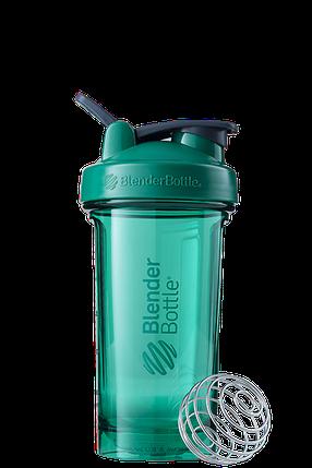 Спортивная бутылка-шейкер BlenderBottle Pro24 Tritan 710 ml Green, фото 2