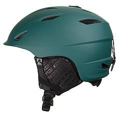 Шолом гірськолижний MARKER COMPANION L Black-green (168408.93 L)