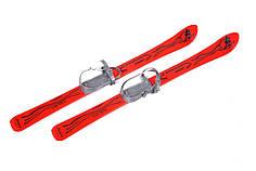 Дитячі лижі з палицями Marmat Vikers 90 см Червоний (Vikers_2)