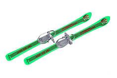Дитячі лижі з палицями Marmat Vikers 90 см Зелений (Vikers_5)