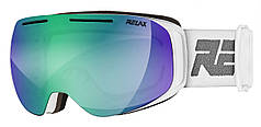 Маска гірськолижна Relax Axis HTG67A White